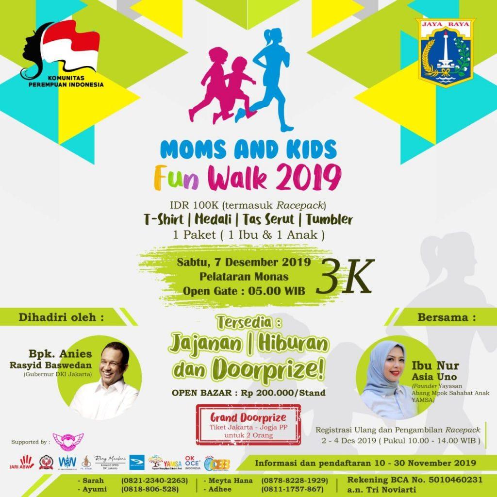 moms and Kids Fun Walk 2019