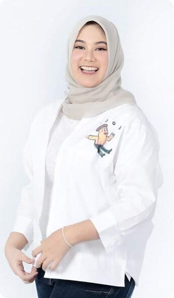 Kemeja LOOK YAMSA KCAI - Kamicintaanakindonesia