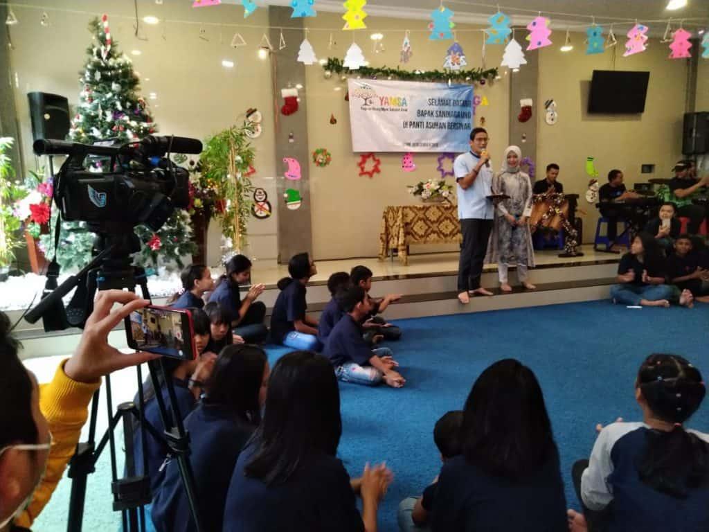 baksos kunjungan ke Pantia Asuhan Bersinar Desember 2019
